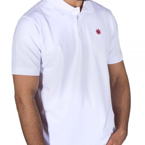 Polo Shirt weiß