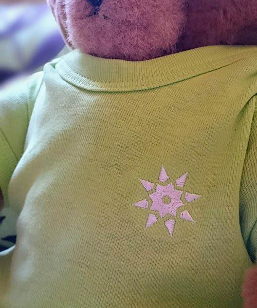 Bodysuit apple green