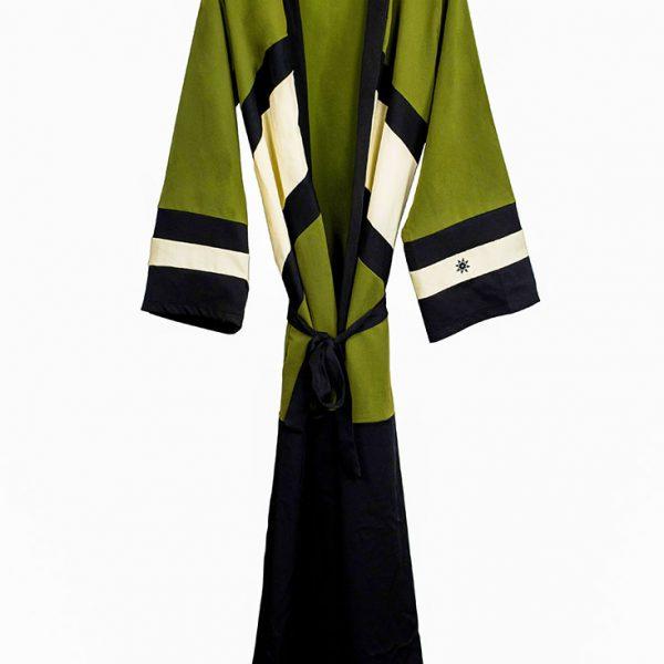 Kimono olivgrün