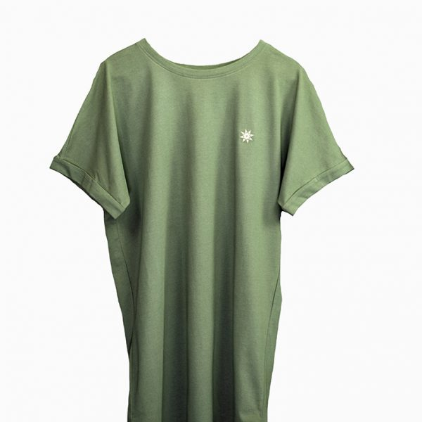 T-Shirt-olivgrün
